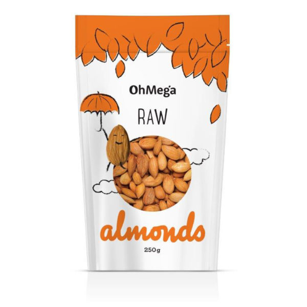 Oh Mega Raw Almonds South africa