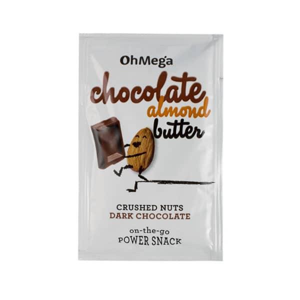 Chocolate almond butter sachets